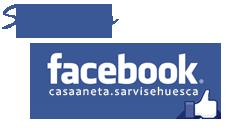 Facebook casa rural Aneta